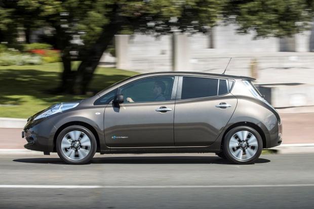 Większy zasięg elektrycznego Nissana