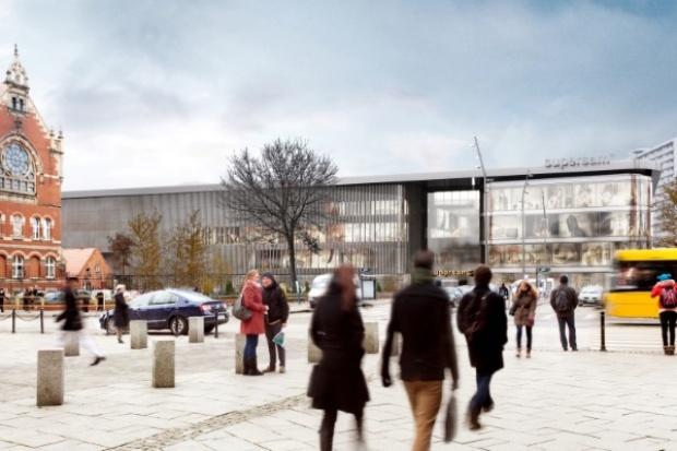Budowa nowego Supersamu w Katowicach dobiega końca
