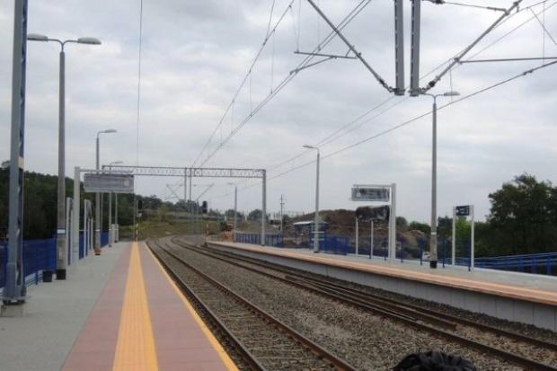 Linia kolejowa na lotnisko w Balicach gotowa