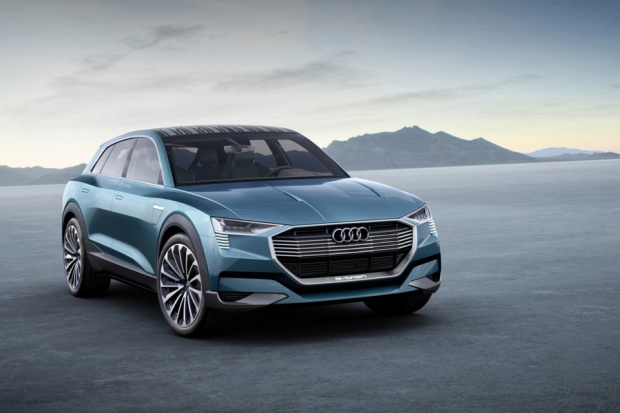 Elektryczna jazda  na 100%: Audi e-tron quattro concept