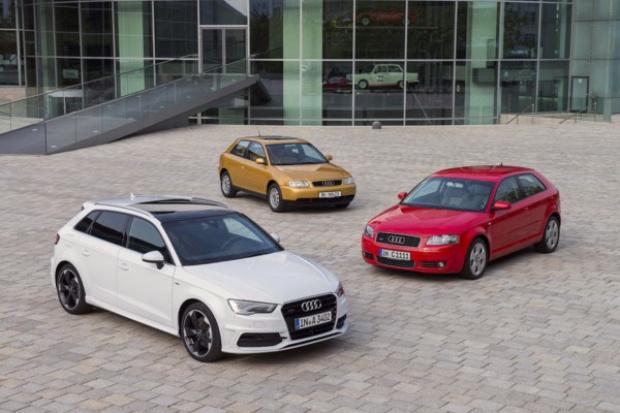 Audi A3 obchodzi 20. urodziny