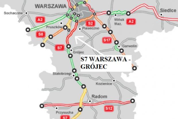 GDDKiA szuka wykonawców dla drogi S7 Warszawa - Grójec