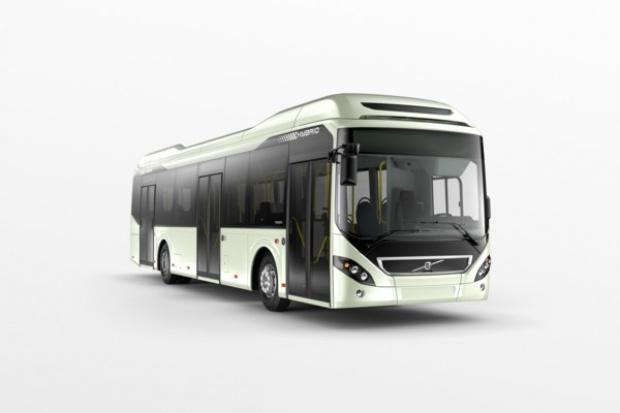 Hybrydy Volvo wożą pasażerów w Inowrocławiu