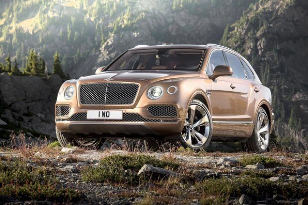 Najnowszy SUV Bentleya dla królowej