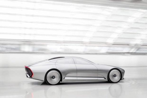 Mercedes IAA Concept: nowy język aerodynamiki