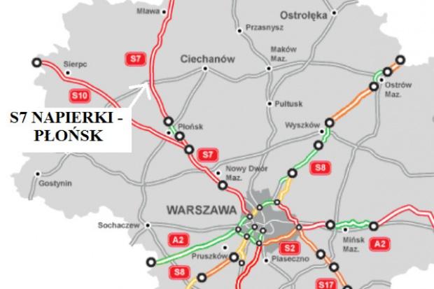 GDDKiA ogłosiła cztery przetargi na S7 za ok. 2,5 mld zł