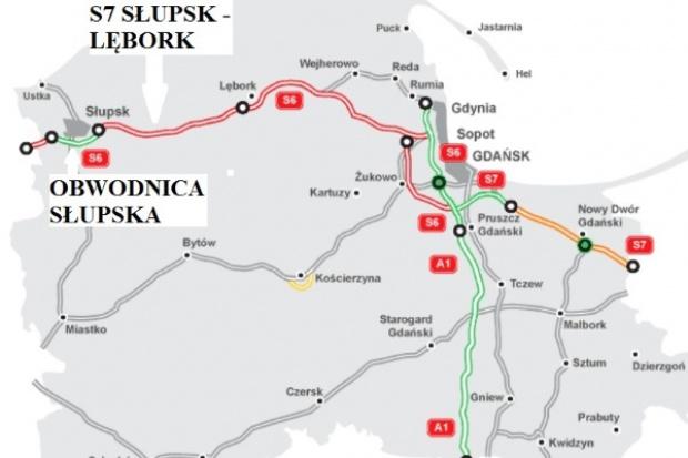 Przetargi na obwodnicę Słupska i S6 Słupsk - Lębork ogłoszone