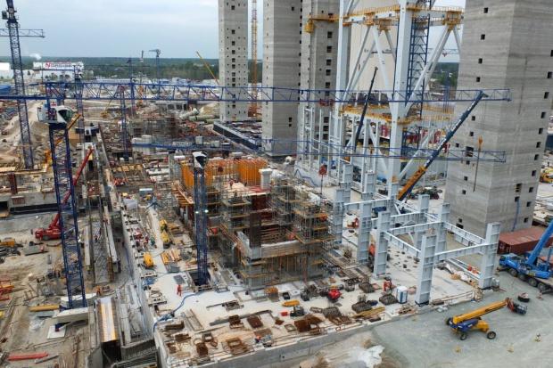 Intensywne prace na budowie bloków w Elektrowni Opole