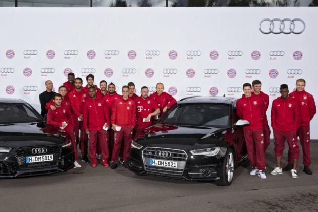 50 Audi dla Roberta Lewandowskiego i jego kolegów z FC Bayern