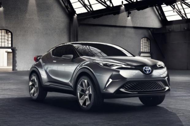 Toyota C-HR Concept: już nie zabawka