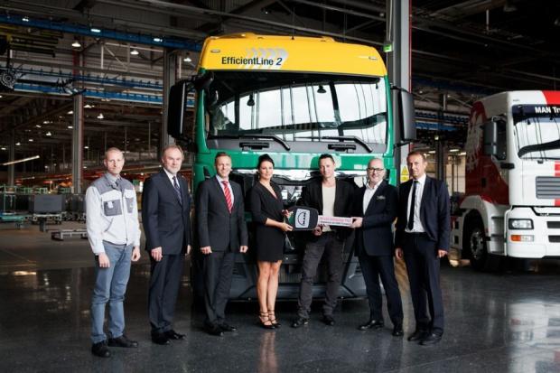70 tysięcy ciężarówek MAN z Niepołomic