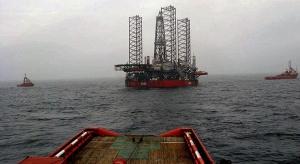 """Platforma """"Lotos Petrobaltic"""" na złożu B8"""