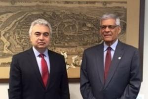 Spotkanie szefów MAE i OPEC w Wiedniu