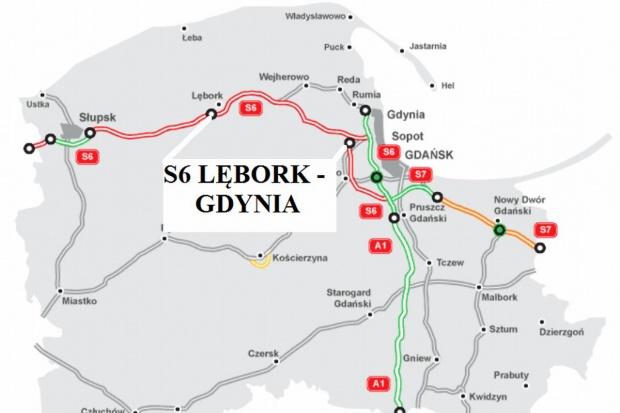 Są przetargi na Trasę Kaszubską - S6 z Lęborka do Gdyni