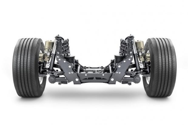Volvo Trucks nowe połączenie układu kierowniczego i zawieszenia