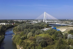 Nowy most przez Wisłok w Rzeszowie oddany do użytku