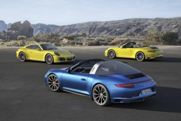 Porsche 911 Carrera 4 i Targa 4 z nowymi rozwiązaniami