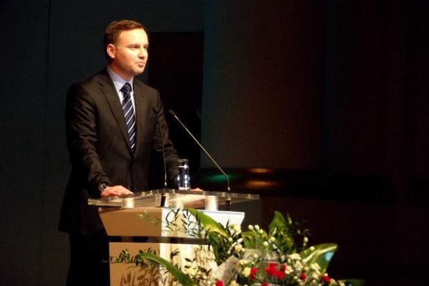Prezydent Duda: Nord Stream 2 stanowi zagrożenie