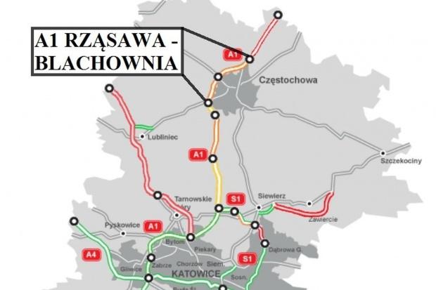 Jest umowa za 0,7 mld zł na autostradową obwodnicę Częstochowy