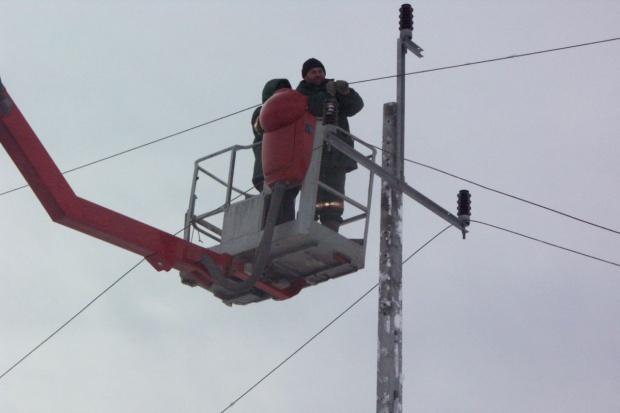 Awarie sieci energetycznej po opadach śniegu