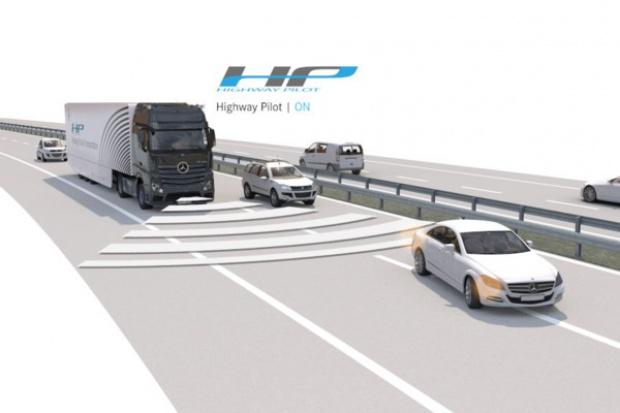 Mercedes pokazał Actrosa z systemem Highway Pilot