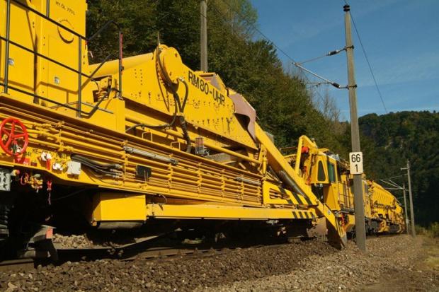 Grupa ZUE inwestuje w maszyny do robót kolejowych