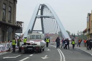 Nowy most przez Sołę w Żywcu wreszcie gotowy