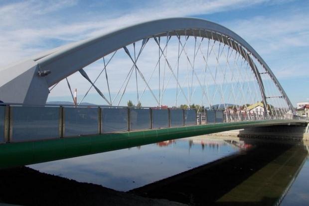 Otwarto nowy most przez Sołę w Żywcu