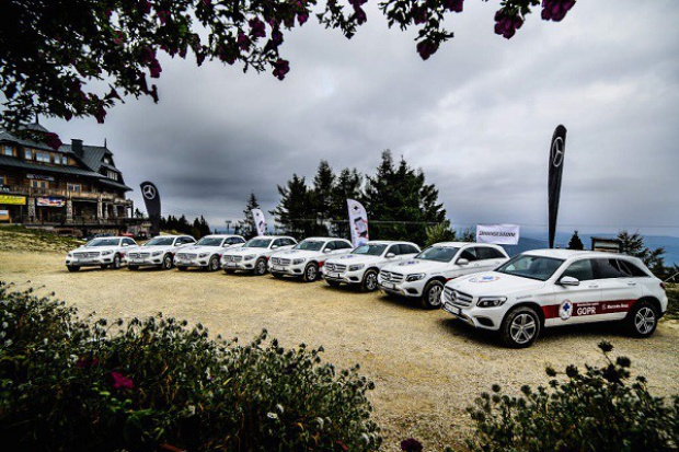 Mercedes w służbie GOPR