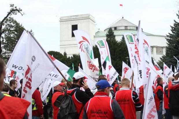 22 października górnicy będą demonstrować w Warszawie