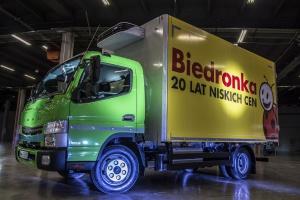 Logistyka w Biedronce zyskała napęd hybrydowy