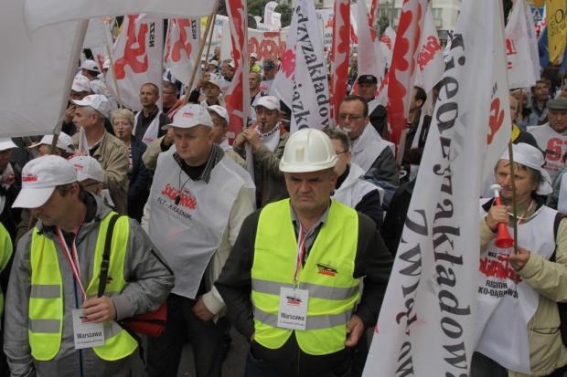 Nie tylko górnicy mają demonstrować w Warszawie