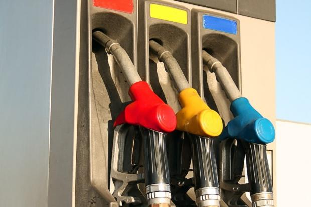 Benzyna i ON w dół, LPG w górę