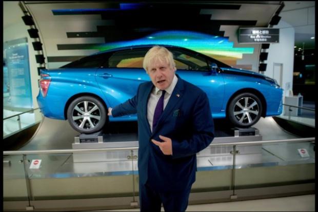 Przybywa wodorowych aut w Londynie