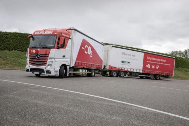 Ciężarówki dalekobieżne: zintegrowane podejście a emisja CO2
