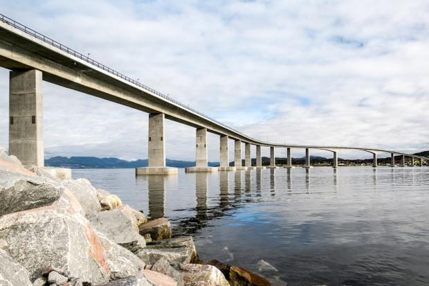 Porr wybudował most nad Morzem Norweskim