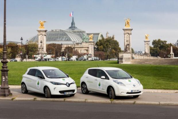 Renault-Nissan szykuje wielką e-flotę na konferencję COP21