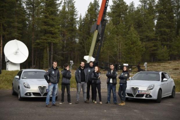 Alfa Romeo na wyprawie naukowej studentów z Wrocławia