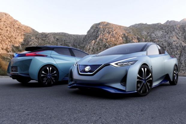 IDS Concept: wizja przyszłości e-aut wg Nissana