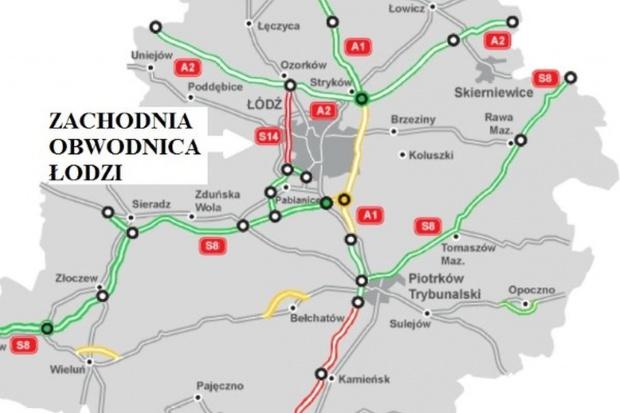 Zachodnia Obwodnica Łodzi na S14 z wykonawcami