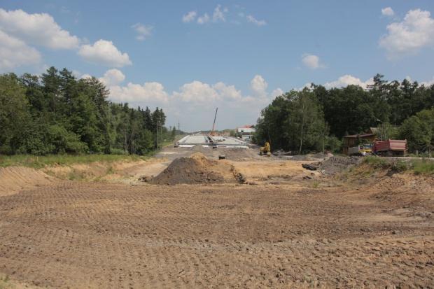 Postępy na budowie S19 koło Rzeszowa