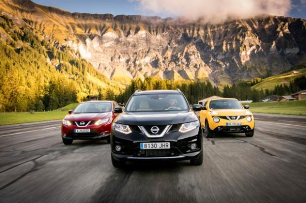 Nissan na fali wznoszącej