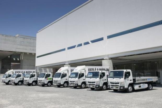 50 tys. km  elektrycznej ciężarówki FUSO Canter