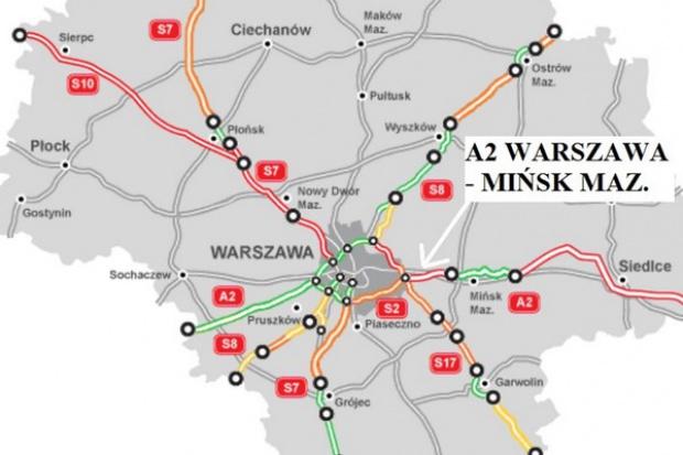 Są potencjalni wykonawcy A2 Warszawa - Mińsk Mazowiecki
