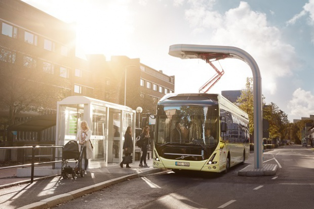 Nowy e-autobus Volvo
