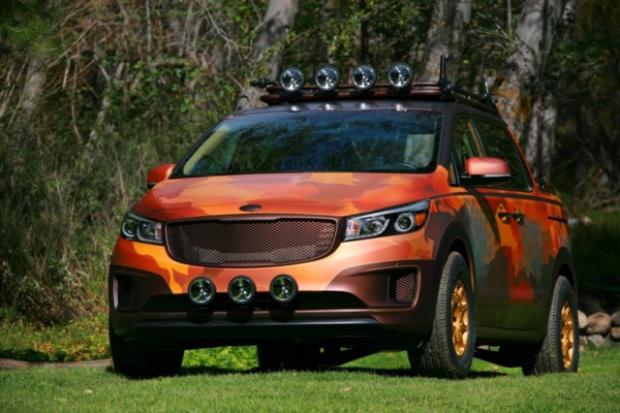 Amerykańskie fantazje Kia Motors