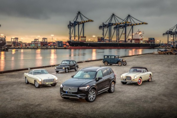 60 lat Volvo w.... Hollywood
