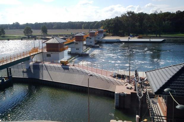 Skanska zmodernizowała stopień wodny na Odrze