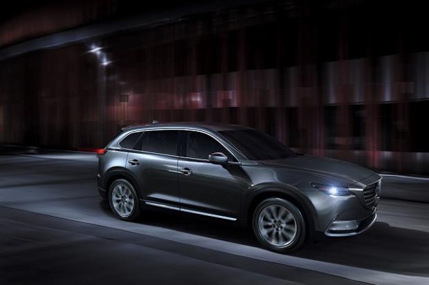 Nowa Mazda CX-9 z nowym napędem