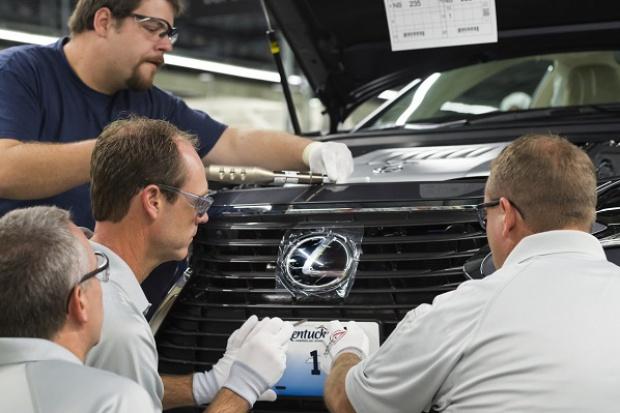 Lexus uruchomił zakład produkcyjny w USA